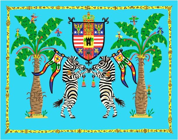 Zebra Crest III