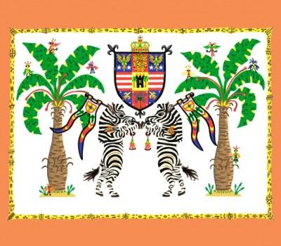 Zebra Crest II